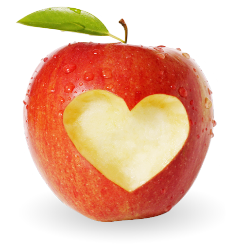 Heart apple Dr Viola Zulian